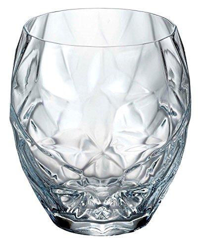 Bormioli Glass Fashioned Luigi Old - Luigi Bormioli Prezioso Double Old Fashioned Glasses (Set of 4), 17 oz, Clear