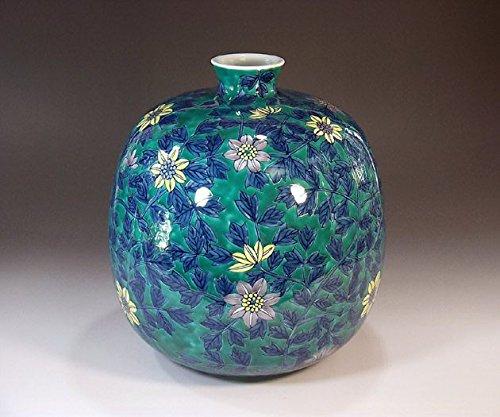 有田焼伊万里焼の陶器花瓶色鍋島様式|贈答品|ギフト|記念品|贈り物|陶芸家 藤井錦彩 B00M1G9LH4