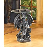 Cheap Guarding Dragon Accent Table