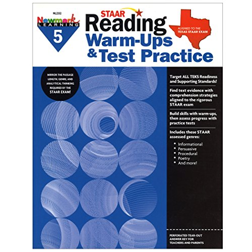 STAAR Reading Warm-Ups & Test Practice Grade 5