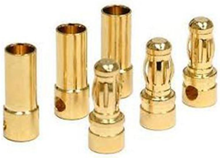 onewiller 3,5/mm Gold bullet ESC Batterie Anschluss Plug Pack 20/Paar