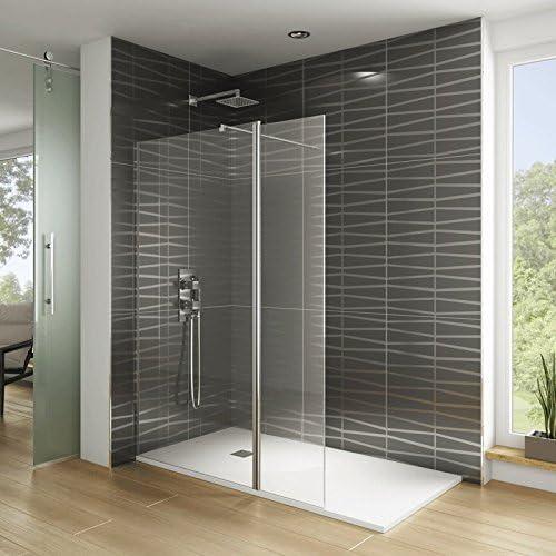 Mampara de ducha con contraventana giratoria – Screen, transparente, 158 cm: Amazon.es: Hogar