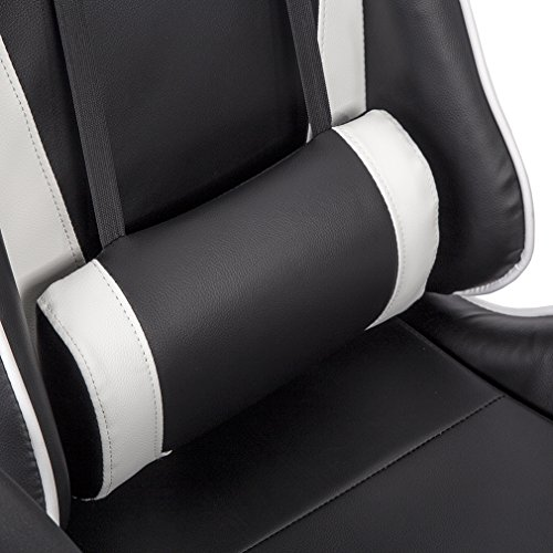Office Chair High-back Recliner Office Chair Computer Chair Ergonomic Design Racing Chair by BestOffice (Image #9)