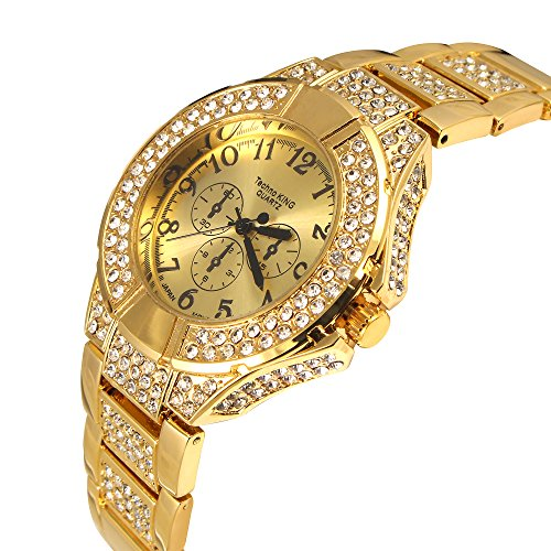 Techno King Ladys Soul Stone Seriessoul Of Gold Watch 5989lm