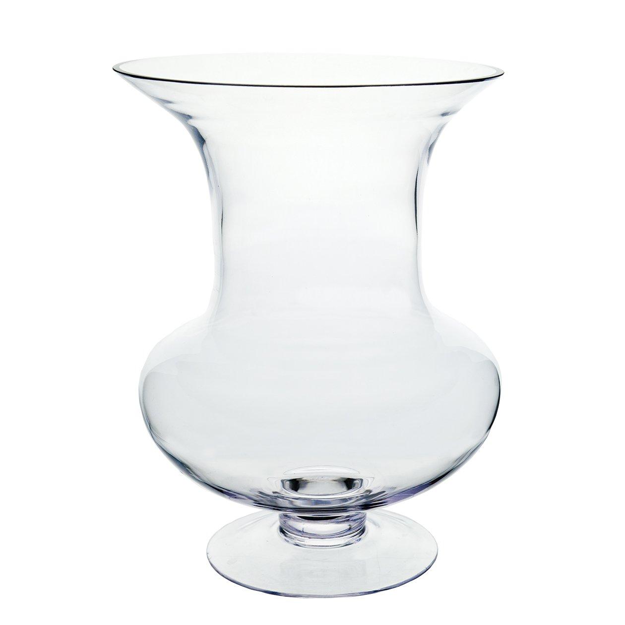Clear Syndicate Sales 11 Fleur de Lis Vase