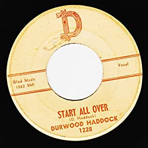 start all over 45 rpm single