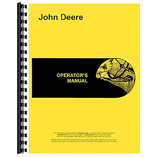 New Lawn and Garden Tractor Operator's Manual (Hydrostatic) for John Deere 400 by RAPartsinc