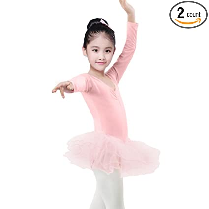 1062a289b209 Amazon.com  Tiean New Toddler Girls Gauze Leotards Tops Bodysuit ...