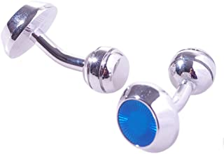 Salutto Men's Blue Series Cufflinks with Gift Box