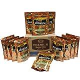 Carnes Premium Instant Coffee 100% Arabica Coffee (Hazelnut, 7oz_12 pack)