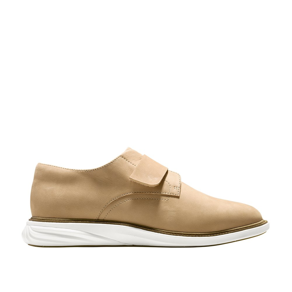 Cole Haan Women's GrandEvOlution Modern Monk 9.5 Iced Coffee-Ivory by Cole Haan (Image #1)