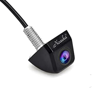 NOAUKA Waterproof IP68 Night Vision 170 Degree Car Rear View/Reversing/Reverse Camera Universal Color CMOS Imaging Chip Backup Parking HD Front View Camera
