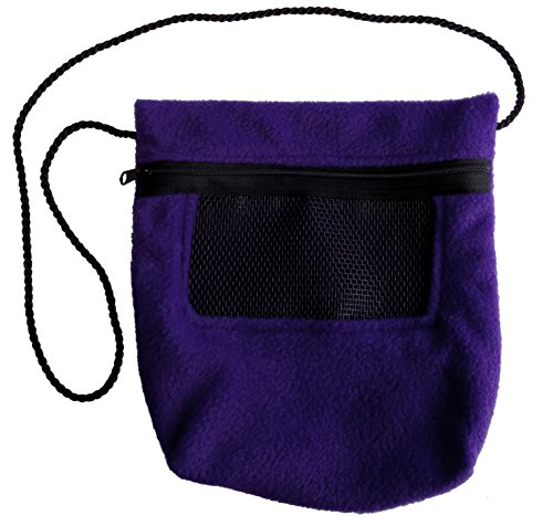 - Bonding Carry Pouch for Sugar Gliders and other small pets (Purple)