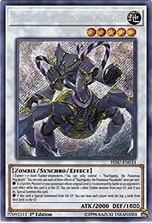 Yuki-Onna the Ice Mayakashi Secret Rare 1st Ed Yugioh Konami HISU-EN037