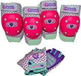 Kyпить Bell Raskullz Riderz Hearty Gem Pad Set, Pink на Amazon.com