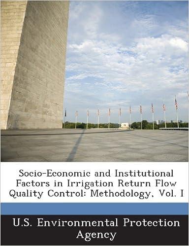 Socio-Economic and Institutional Factors in Irrigation