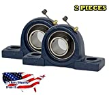 2 Piece 1-1/2 inch Pillow Block Bearing UCP208-24, Solid Base,Self-Alignment, Brand New