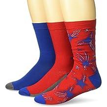Diesel Men's Ray Three Pack Star Socks
