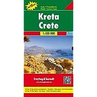 Kreta, Autokarte 1:150.000, Top 10 Tips, freytag & berndt Auto + Freizeitkarten