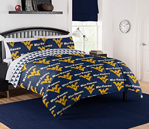 Northwest NCAA West Virginia Mountaineers Queen Bed in Bag Set #953824263
