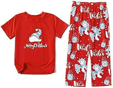 2020 Merry Matching Pajamas Christmas Pajamas for Family Women Men Kids Baby Red Plaid Reindeer Sleepwear Loungewear