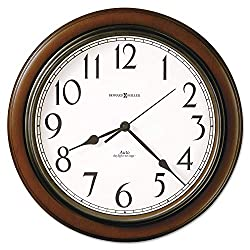 Howard Miller Talon Auto Daylight-Savings Wall Clock, 15 1/4, Cherry - 625-417