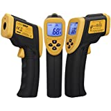 Etekcity Lasergrip 800 Non-contact Digital Laser IR Infrared Thermometer Temperature Gun, Yellow/Black