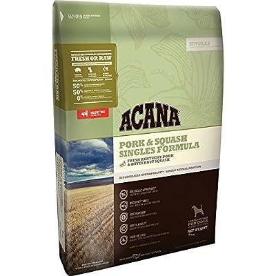 Acana Singles Formula - Pork and Squash Dog Food, 4.5lbs