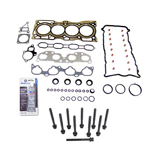 - Head Gasket Set Bolt Kit MLS Fits: 07-13 Nissan Altima Sentra SE-R 2.5L DOHC QR25DE