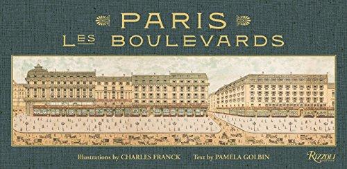 Paris: Les Boulevards (Venice Map Of Antique)