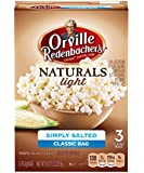 Orville Redenbacher's Gourmet Microwavable Popcorn, Natural Simply Salted, 3-3.3oz Count Boxes (Pack of 12)