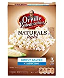 Orville Redenbacher's Naturals Simply Salted Popcorn, 3-3.3 oz Count Boxes (Pack of 12)