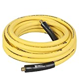 25 foot air hose - WYNNsky Hybrid Air Hose 3/8 in. × 25ft. 1/4