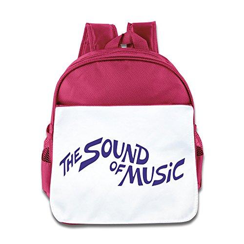 Hello-Robott The Sound Of Music School Bag Backpack Pink
