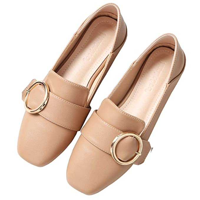 Mocasines Zapatos Planos De Mujer Mocasines Mocasines De Cuero Artificial Zapatos Cómodos Zapatos De Guisantes Zapatos De Cuero Retro: Amazon.es: Ropa y ...
