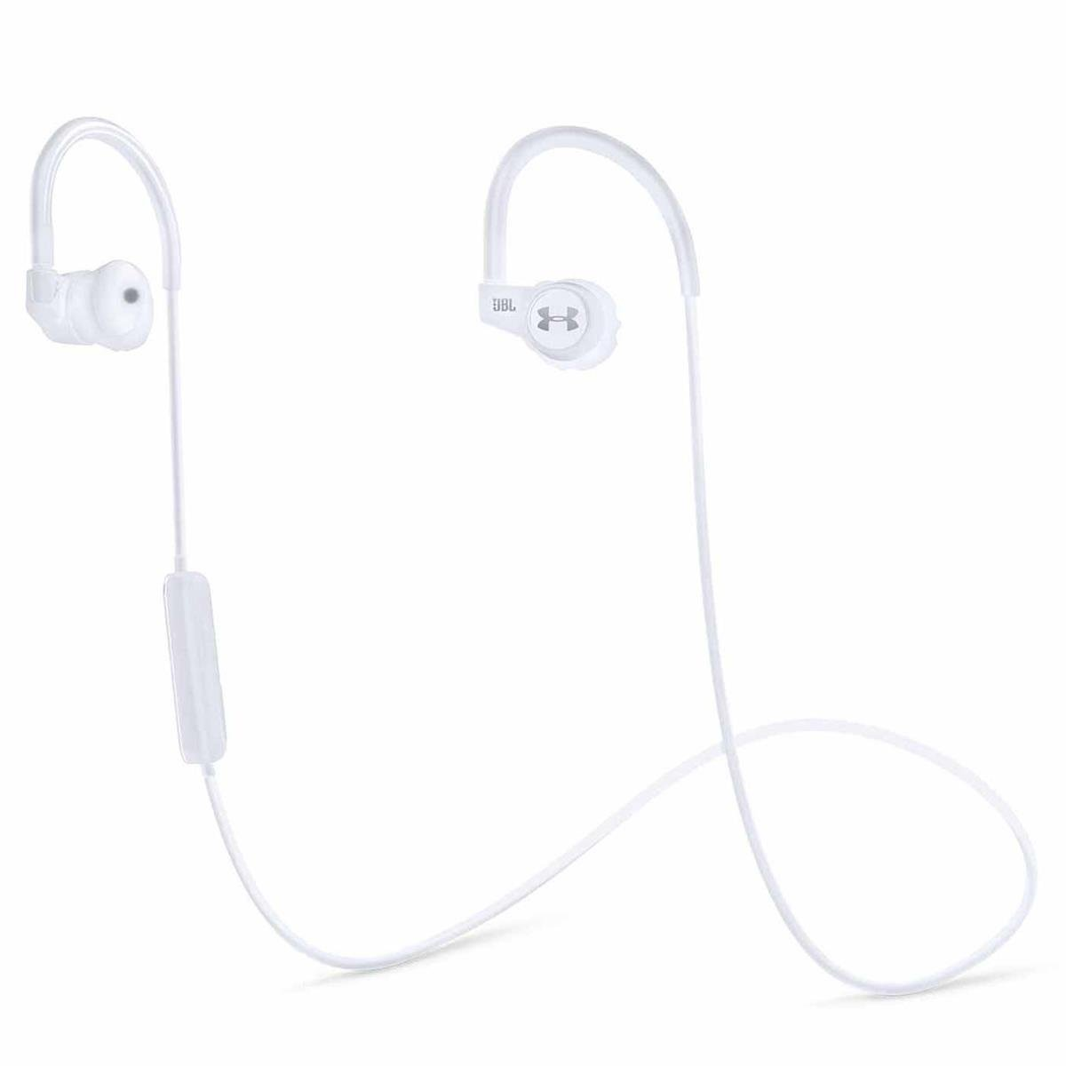 JBL Under Armour Sport Wireless In-Ear Headphones with Heart Rate Monitor (White)