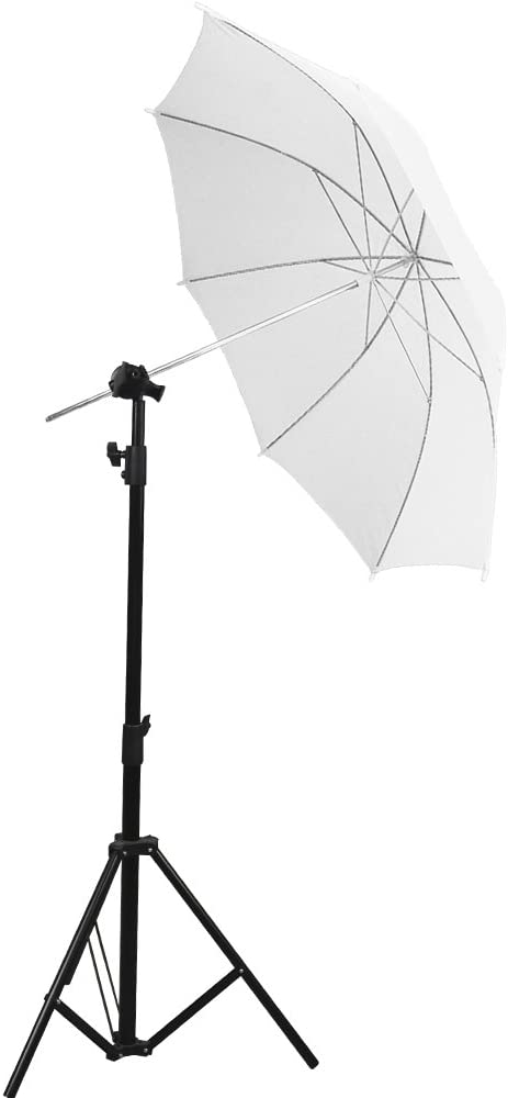 Photo Studio Compatible with Super Clamp 3//8 Reflector Disc Extension Grip Arm 1//4 AGG2151 C Stand LimoStudio 2.5 Inch Diameter Grip Head Black with Cleaning Cloth 1//2 5//8 Inch Mount