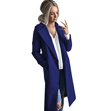 2882c72e6b3 Image Unavailable. Image not available for. Color  GONKOMA Clearance Women s  Autumn Winter Long Coat ...