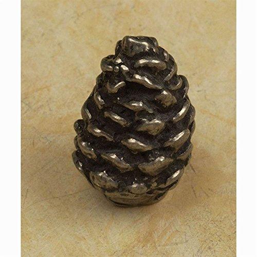 (Pine Cone knob (Set of 10) (Antique Gold))