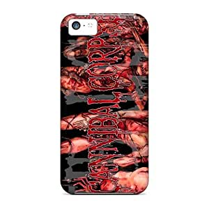 Bumper Hard Phone Cover For Iphone 5c (sDq18122XWUY) Unique Design High Resolution Cannibal Corpse Band Pictures