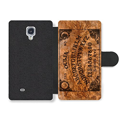 Ouija Board Horror Cool Funny Design On Wood Effect Faux Leather case for Samsung Galaxy S4