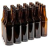 Home Brew Ohio 12 oz. Crown Cap Amber Longneck