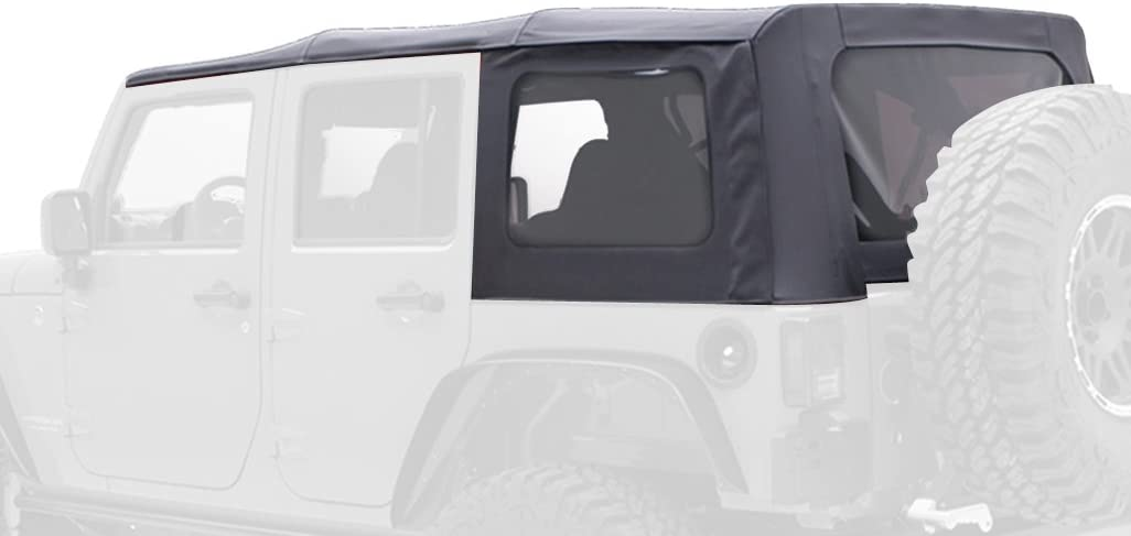 Smittybilt OEM Replacement Soft Top w// Tint 10-18 2dr Jeep Wrangler JK 9075235