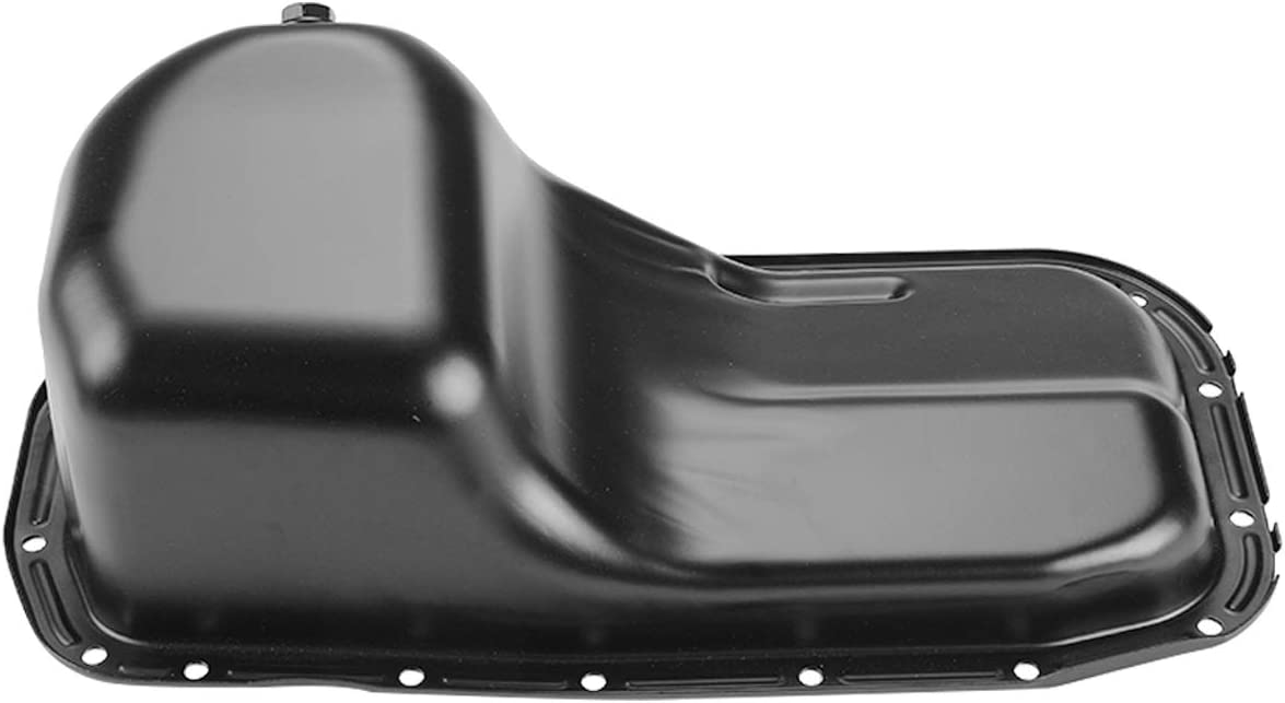 A-Premium Engine Oil Pan Compatible with Dodge Colt Eagle Summit Hyundai Excel Scoupe Mitsubishi Mirage Precis Plymouth Colt L4 1.5L