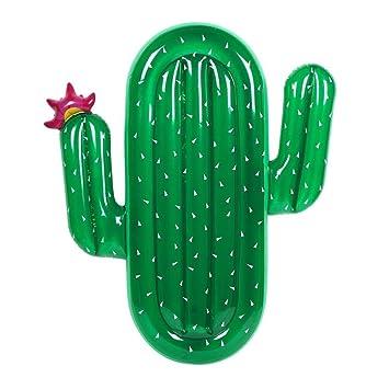 San Qing Gigante Cactus Piscina Flotador Adulto Palomitas de maíz ...