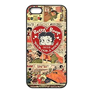 Hipster Betty Boop Cartoon Super Fit iPhone 4/4s Case Pattern Design Solid Rubber Customized Cover Case for iPhone 4 4s 4s-linda1003 hjbrhga1544