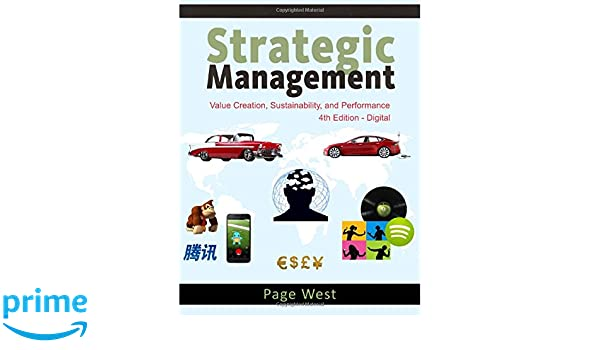 Amazon strategic management value creation sustainability amazon strategic management value creation sustainability and performance 4th edition 9780991155255 page west books fandeluxe Gallery