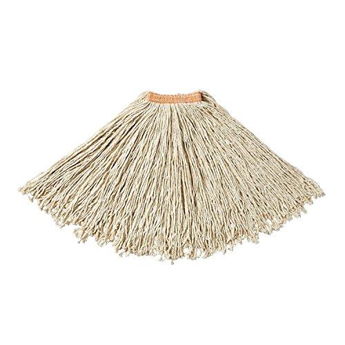 Rubbermaid Commercial Dura Pro Premium Cut End Cotton Mop, White, FGF11800WH00