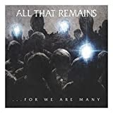 All That Remains THAT REMAINS For We Are Many Vinyl Album