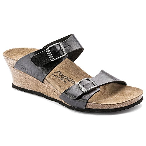 Birkenstock Women's Dorothy Sandal Graceful Licorice Birko Flor Size 38 M EU by Birkenstock